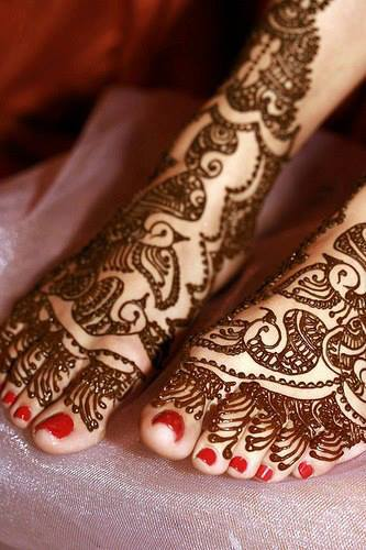 Wedding Mehndi Designs - Arabian Henna Mehndi Designs Collection 2014 b