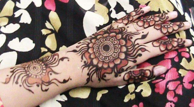 Wedding Mehndi Designs - Arabian Henna Mehndi Designs Collection 2014